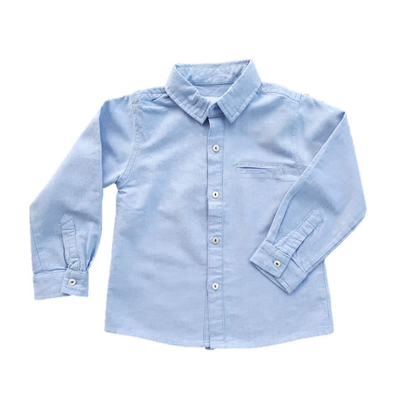 Oxford Shirt, Pale Blue