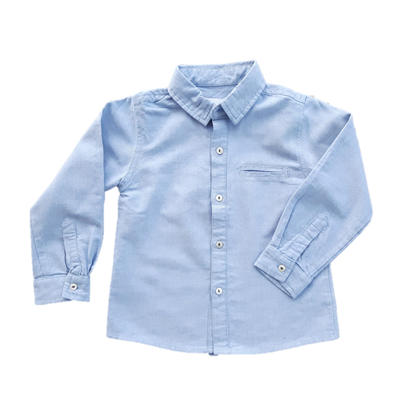 Oxford Shirt, Pale Blue (2y - 6y)
