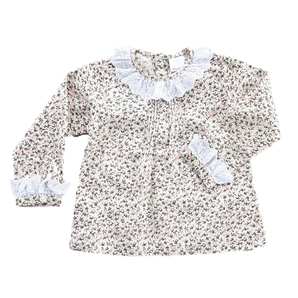 Blouse, Ruffle Collar (3m)
