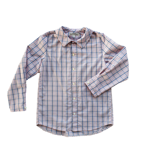 Hawkers Shirt, Red & Blue Check