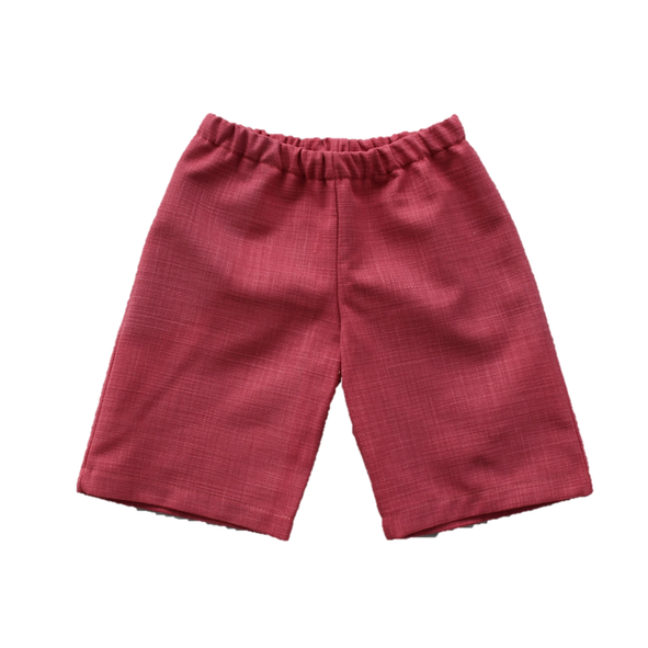 Haytor Shorts, Washed Red (4y, 5y, 8y)