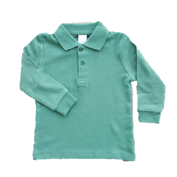 Soft Green polo shirt