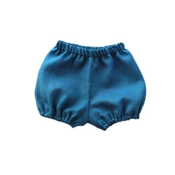 Woodland Bloomers, Teal (2 y)
