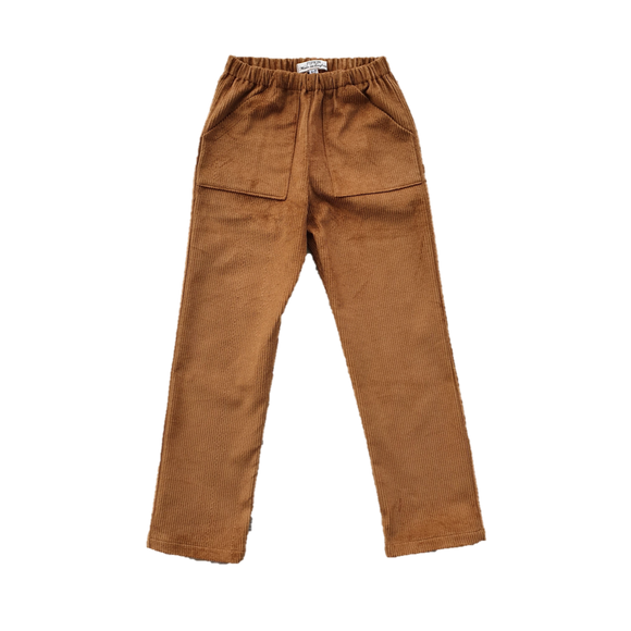 Bracken Trousers, Toffee Corduroy