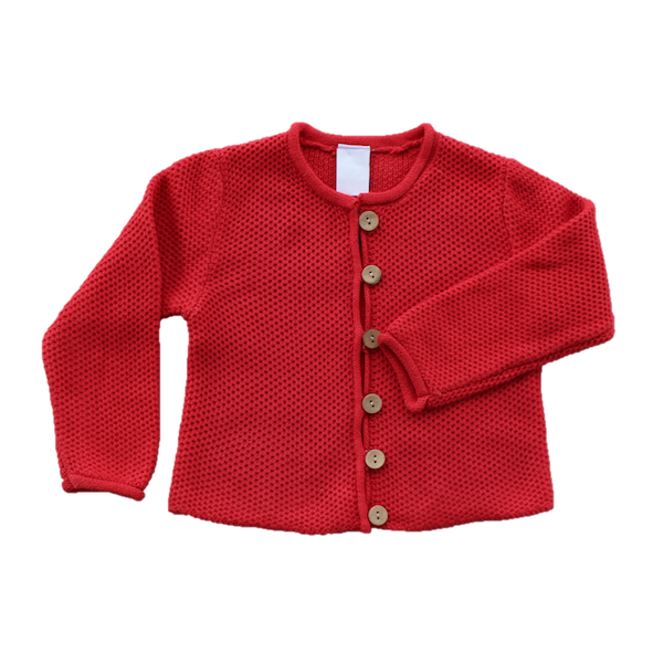 Cardigan, Watermelon (5, 6, 7y)