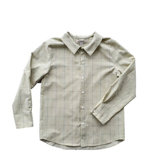 Hawkers Shirt, Yellow Check