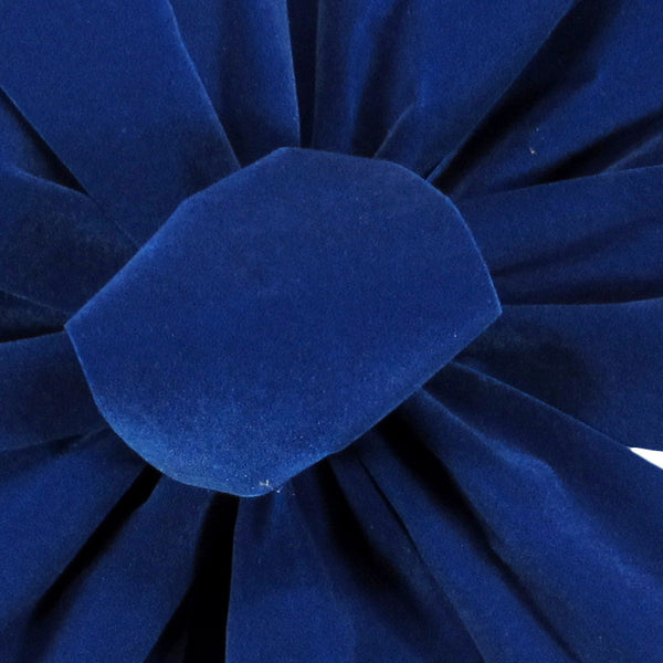 Waterproof Outdoor Royal Blue Velvet Ribbon
