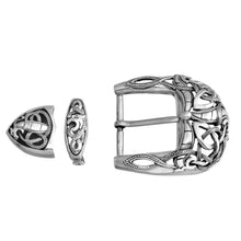 Load image into Gallery viewer, a&g-rock-three-piece-filigree-belt-buckle