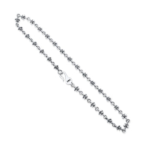 FDL Battle Sterling Silver Chain Necklace