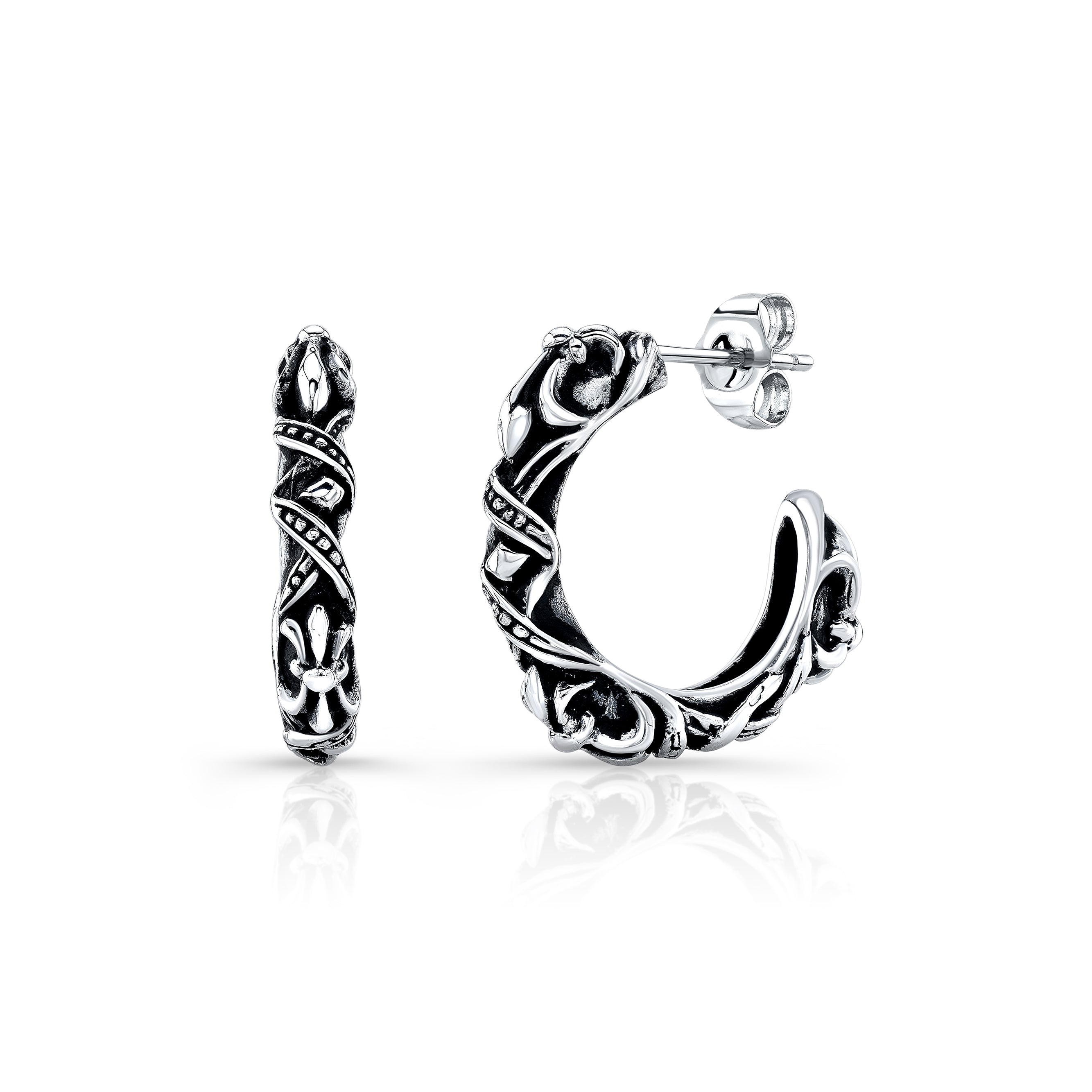 FDL Loop Sterling Silver Earring