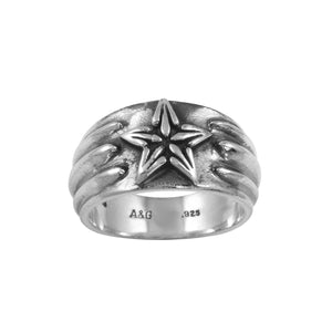 Star Sterling Silver Ring