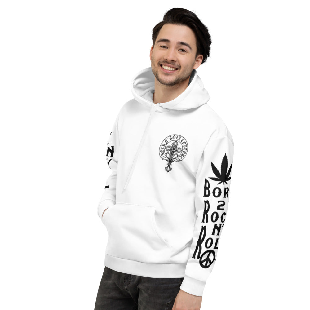 Born to Rock n' Roll Unisex Hoodie