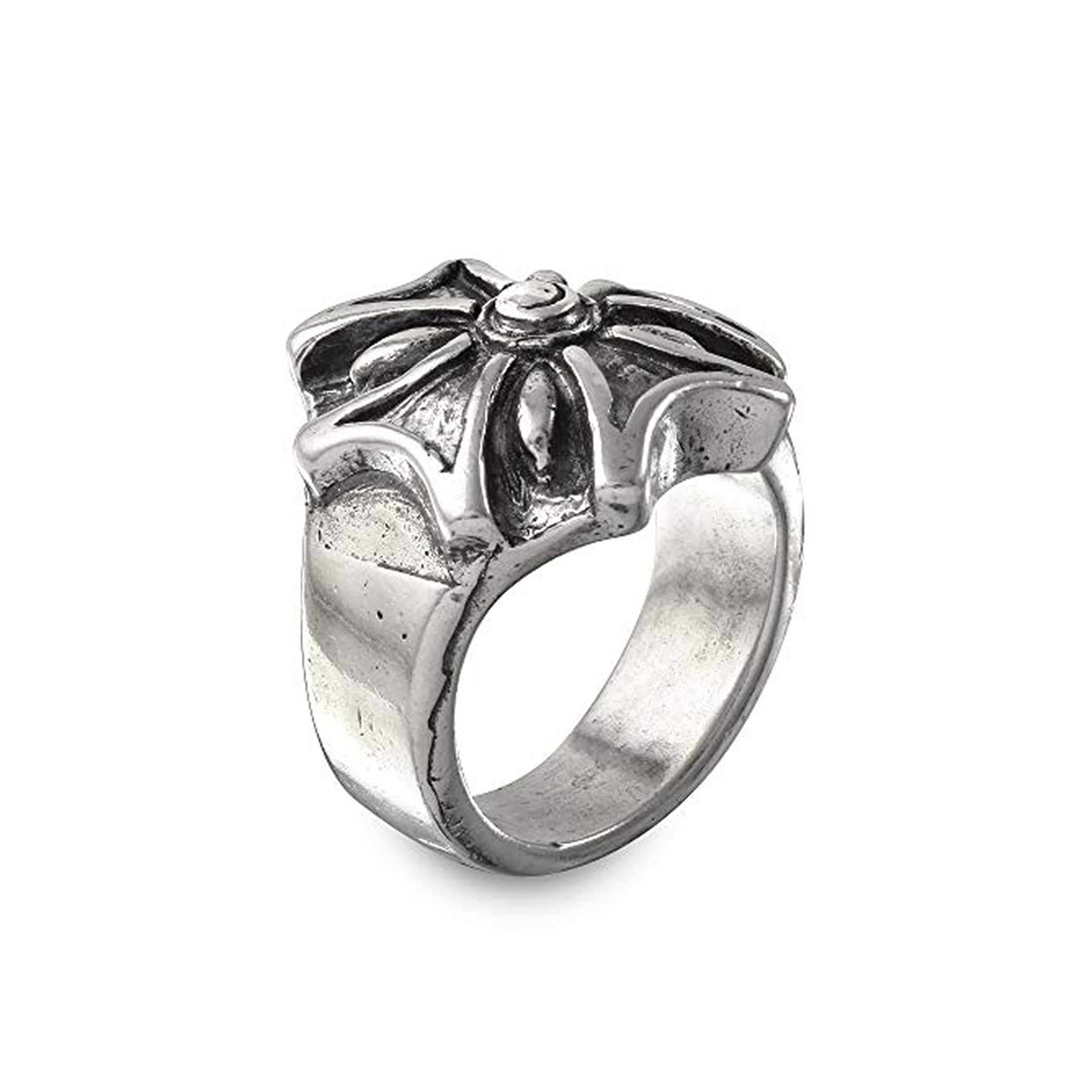 Iron Cross Sterling Silver Ring