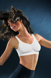Medium Compression Push Up Bra White by Control Body