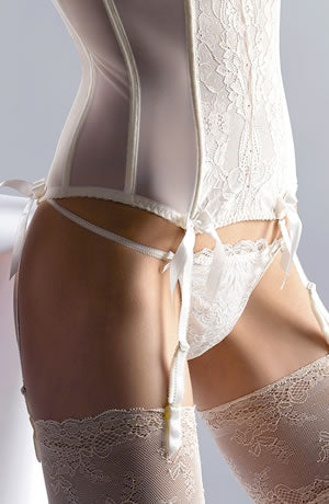 Crystal Thong Cream by Gracya