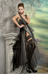 220 Hold Ups Black by Ballerina