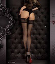 351 Hold Ups Black/Smoke by Ballerina