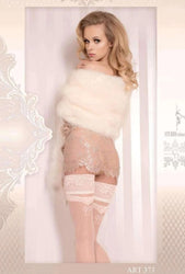 373 Hold Ups Ivory by Ballerina