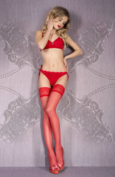700 Hold Ups Red by Ballerina