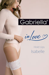 Isabelle Hold Ups Natural/Champagne by Gabriella