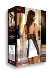 Michele Set Chemise White by Beauty Night