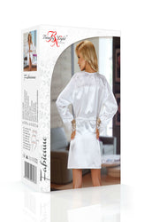 Fabienne Dressing Gown White by Beauty Night