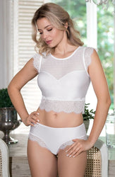 Erii Top White by Roza