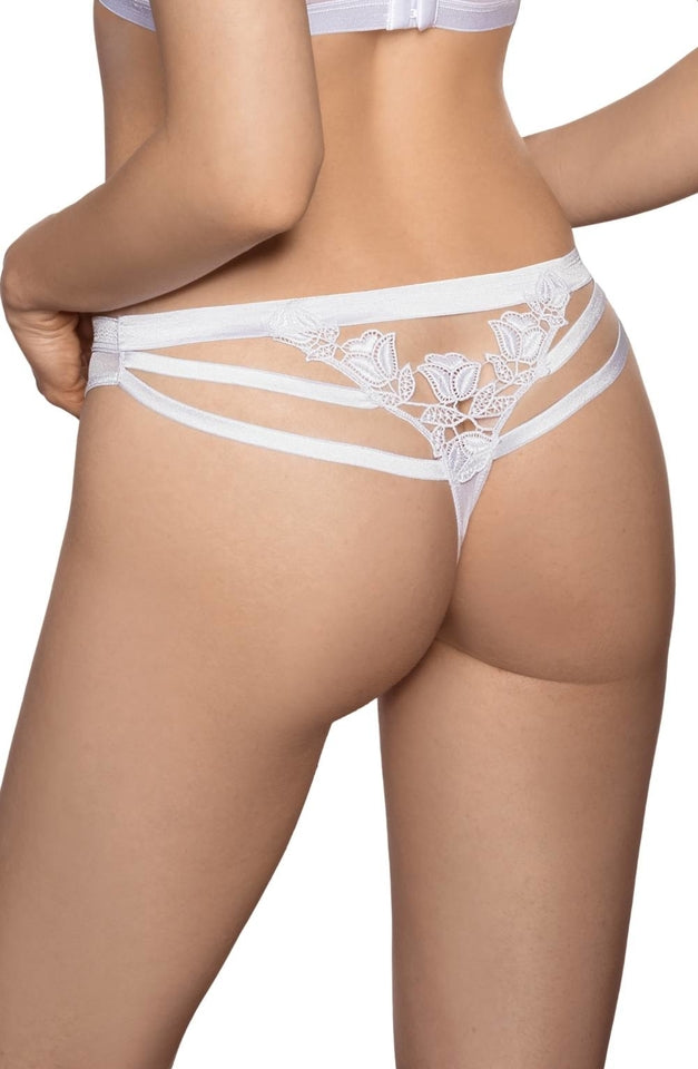 Lisbet Thong White by Roza