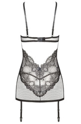 Marion Set Chemise Black by Beauty Night