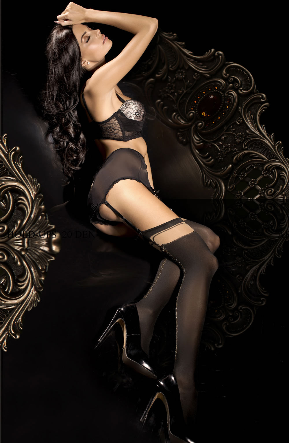289 Stockings Black by Ballerina