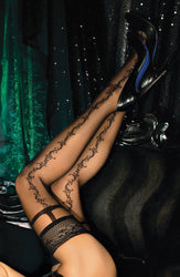 444 Hold Ups Black by Ballerina