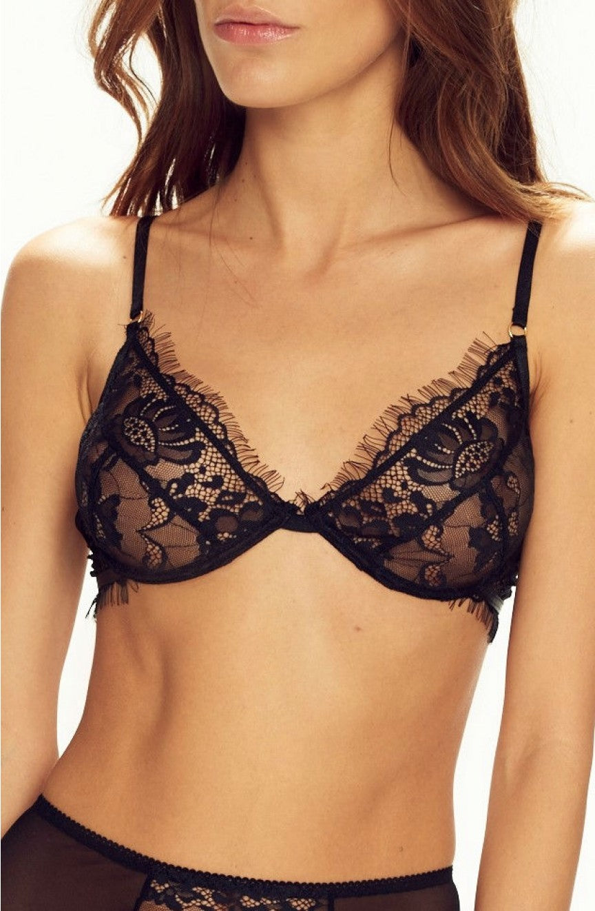 Forever Young Soft Bra Black by Confidante