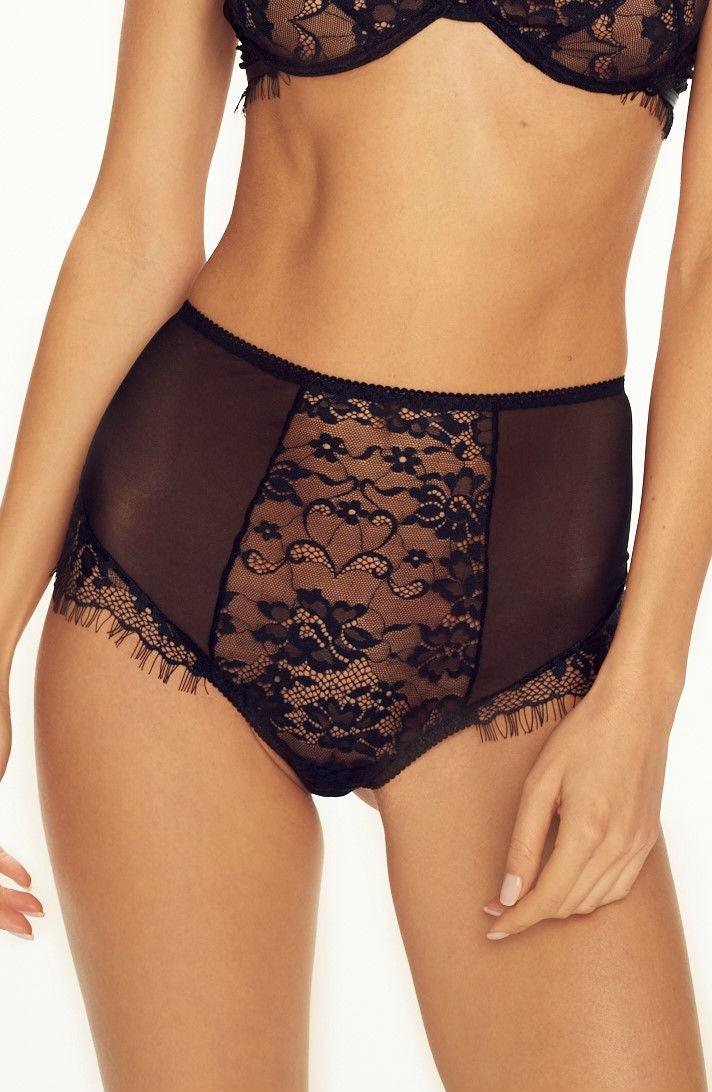 Forever Young High Waist Brief Black by Confidante