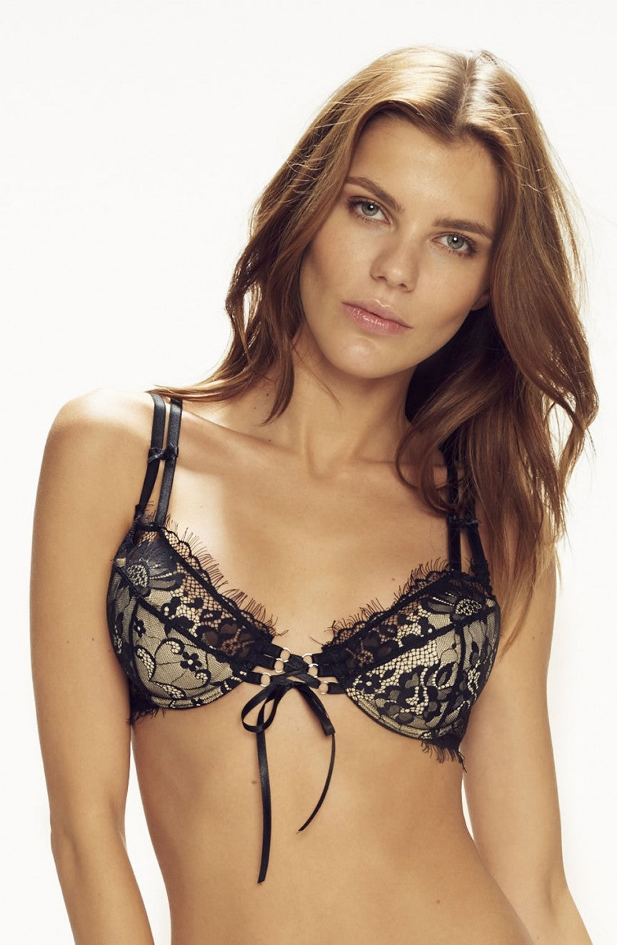 Forever Young Push Up Bra Black by Confidante