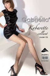Kabaretta Collant 153-231 Tights Black by Gabriella