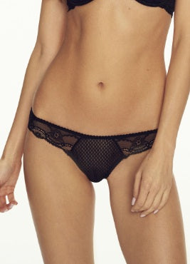 Opium Thong Black by Confidante