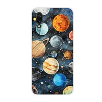 Redmi 7 Case For Xiaomi Redmi 7 Cover Soft TPU Cute Back Cover Fundas For Xiomi Redmi7 Note 7 Silicone Phone Cases Hoesje Coque