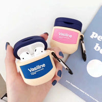 3D brand skin care products Vaseline wireless Bluetooth Set Cases Airpods Headset soft For Airpods 1/2 Earphone Protective case