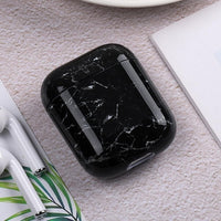 Luxury Silicone Earphone Case For Airpods 2 1 Marble Pattern Cases Coque For Apple Airpods Shockproof Fundas For Air pods Cover