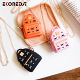 EKONEDA Cute Chain Bag Case For Airpods Case Silicone Protective Girl Cover For Airpods 1 2 Case