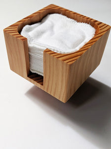 Wooden Container for Facial Rounds