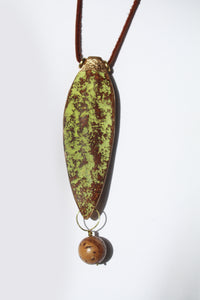 Mahogany Seed Necklace