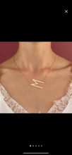 Load image into Gallery viewer, LE MIEN LARGE LETTER NECKLACE