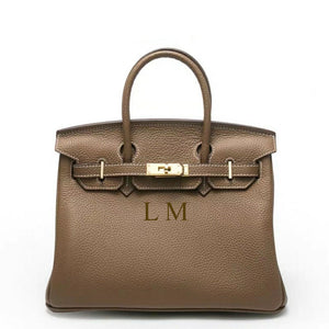 "LE MIEN ""ARIEL 35"" LEATHER BAG"