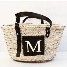 Load image into Gallery viewer, LE.MIEN PERSONALISED BASKET BAG - Black