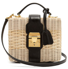 "Load image into Gallery viewer, LE MIEN ""POPPY RATTAN"" BAG"