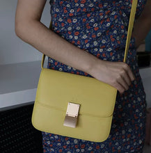 "Load image into Gallery viewer, LE MIEN ""FLAP BAG"" GENUINE LEATHER CROSSBODY"