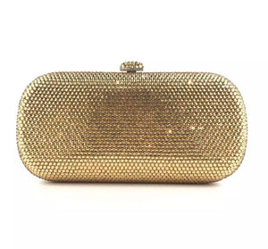 LE MIEN CRYSTAL CLUTCH - OVAL