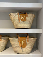 Load image into Gallery viewer, LE.MIEN PERSONALISED BASKET BAG - GOLD EMBOSSED