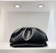 "Load image into Gallery viewer, LE MIEN ""POUCH"" BAG CROC EFFECT"